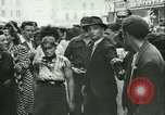 Image of Liberation ceremony Rennes France, 1945, second 11 stock footage video 65675020664