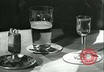 Image of men in bar Germany, 1941, second 8 stock footage video 65675020685