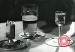 Image of men in bar Germany, 1941, second 10 stock footage video 65675020685