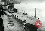 Image of German submarine Germany, 1940, second 5 stock footage video 65675020690
