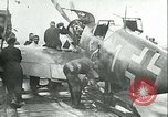 Image of German and British fighter planes in aerial combat France, 1941, second 7 stock footage video 65675020692