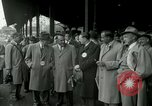 Image of Milwaukee Braves baseball team arrives in the city Milwaukee Wisconsin USA, 1953, second 9 stock footage video 65675020699