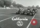 Image of Motorcycle policemen Los Angeles California USA, 1953, second 3 stock footage video 65675020700