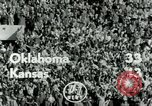 Image of Football match Lawrence Kansas USA, 1950, second 6 stock footage video 65675020705