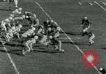 Image of Football match Lawrence Kansas USA, 1950, second 10 stock footage video 65675020705