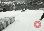 Image of Barrel jumping New York United States USA, 1953, second 6 stock footage video 65675020710