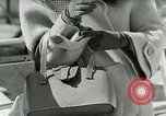 Image of Josef bags New York United States USA, 1953, second 12 stock footage video 65675020715