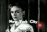 Image of Christine Jorgenson New York City USA, 1953, second 1 stock footage video 65675020719