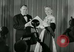 Image of Christine Jorgenson New York City USA, 1953, second 8 stock footage video 65675020719