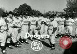 Image of Brooklyn Dodgers Vero Beach Florida USA, 1953, second 4 stock footage video 65675020722
