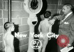 Image of Young boxers New York City USA, 1953, second 2 stock footage video 65675020723