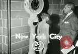 Image of Young boxers New York City USA, 1953, second 4 stock footage video 65675020723