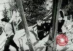 Image of Ski-flying Kulm Austria, 1953, second 7 stock footage video 65675020729