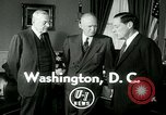 Image of President Dwight Eisenhower Washington DC White House USA, 1953, second 2 stock footage video 65675020732