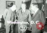 Image of President Dwight Eisenhower Washington DC White House USA, 1953, second 3 stock footage video 65675020732