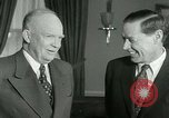 Image of President Dwight Eisenhower Washington DC White House USA, 1953, second 5 stock footage video 65675020732