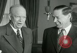 Image of President Dwight Eisenhower Washington DC White House USA, 1953, second 6 stock footage video 65675020732