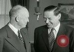 Image of President Dwight Eisenhower Washington DC White House USA, 1953, second 8 stock footage video 65675020732