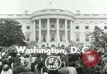 Image of President Dwight Eisenhower Washington DC White House USA, 1953, second 2 stock footage video 65675020734