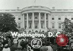 Image of President Dwight Eisenhower Washington DC White House USA, 1953, second 4 stock footage video 65675020734