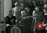 Image of Harry S Truman awards Medal of Honor Washington DC White House USA, 1951, second 7 stock footage video 65675020737