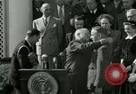 Image of Harry S Truman awards Medal of Honor Washington DC White House USA, 1951, second 9 stock footage video 65675020737