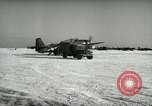 Image of Yonpo Air Base evacuation Yonpo Korea, 1950, second 5 stock footage video 65675020744