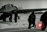 Image of Yonpo Air Base evacuation Yonpo Korea, 1950, second 10 stock footage video 65675020744
