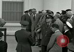 Image of President Dwight D Eisenhower Washington DC USA, 1953, second 2 stock footage video 65675020751