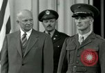 Image of President Dwight D Eisenhower Washington DC USA, 1953, second 11 stock footage video 65675020753