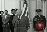 Image of President Dwight D Eisenhower Washington DC USA, 1953, second 7 stock footage video 65675020754