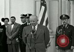 Image of President Dwight D Eisenhower Washington DC USA, 1953, second 9 stock footage video 65675020754