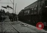 Image of American trolley cars Vienna Austria, 1949, second 5 stock footage video 65675020788