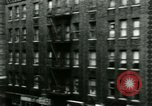 Image of housing Bronx New York City USA, 1965, second 11 stock footage video 65675020820