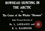 Image of whaler Herman San Francisco California USA, 1915, second 3 stock footage video 65675020840