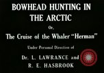 Image of whaler Herman San Francisco California USA, 1915, second 12 stock footage video 65675020840
