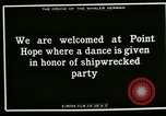 Image of Native dance Point Hope Alaska USA, 1915, second 10 stock footage video 65675020850