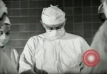 Image of operating room surgery New York United States USA, 1948, second 7 stock footage video 65675020858
