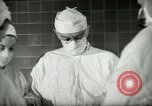 Image of operating room surgery New York United States USA, 1948, second 11 stock footage video 65675020858