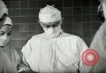 Image of operating room surgery New York United States USA, 1948, second 12 stock footage video 65675020858