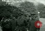 Image of President Woodrow Wilson inspects bomber aircraft Washington DC Bolling Field USA, 1918, second 4 stock footage video 65675020880