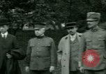 Image of President Woodrow Wilson inspects bomber aircraft Washington DC Bolling Field USA, 1918, second 12 stock footage video 65675020880