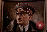 Image of Hitler portrait Cherbourg Normandy France, 1944, second 1 stock footage video 65675020905