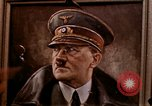 Image of Hitler portrait Cherbourg Normandy France, 1944, second 2 stock footage video 65675020905