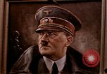 Image of Hitler portrait Cherbourg Normandy France, 1944, second 5 stock footage video 65675020905