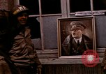 Image of Hitler portrait Cherbourg Normandy France, 1944, second 10 stock footage video 65675020905