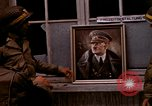 Image of Hitler portrait Cherbourg Normandy France, 1944, second 11 stock footage video 65675020905