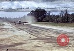 Image of P-47 and P-38 aircraft operating from St.Mere Eglise Saint Mere Eglise France, 1944, second 1 stock footage video 65675020911