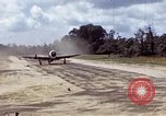 Image of P-47 and P-38 aircraft operating from St.Mere Eglise Saint Mere Eglise France, 1944, second 6 stock footage video 65675020911