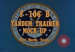 Image of F-106B Tandem Trainer Fort Worth Texas USA, 1956, second 5 stock footage video 65675020954